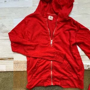 Sundry Full Zip Hooded Sweatshirt